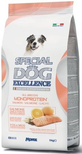 special dog excellence monoprotein all breeds salmone